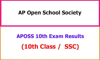 APOSS 10th Class Exam Results 2021