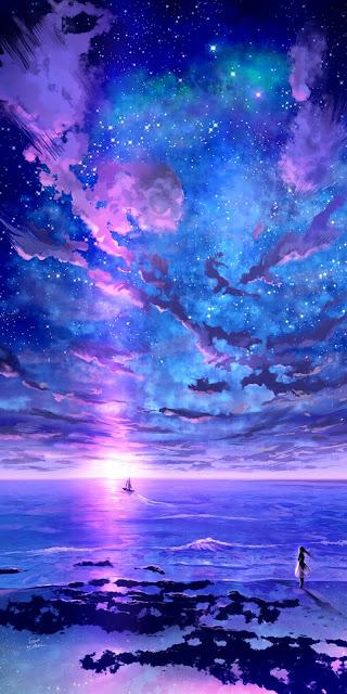 Bầu trời sao đầy sắc màu