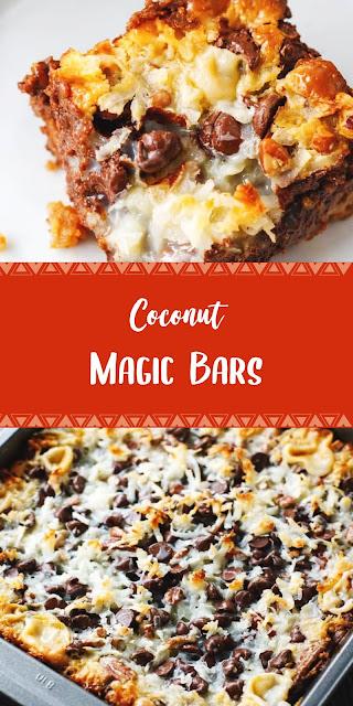 Sweet taste cocunut Magic bars