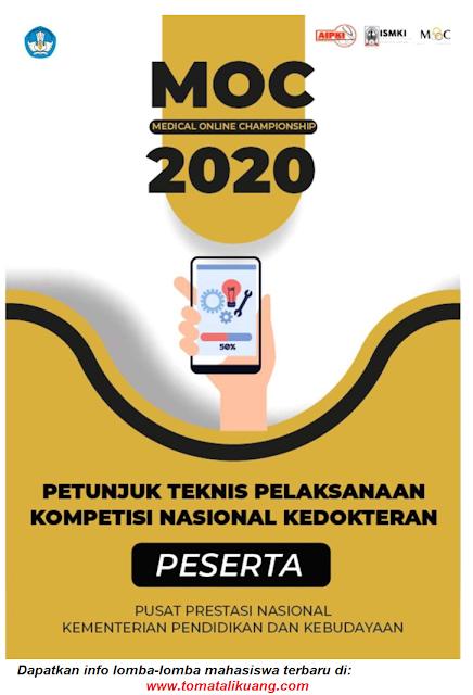 petunjuk teknis pelaksanaan medical online championship moc tahun 2020 untuk peserta pdf tomatalikuang.com