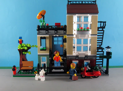 Set LEGO Creator 3in1 31065 Park Street Townhouse