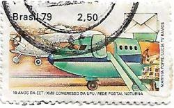 Selo Rede Postal Noturna