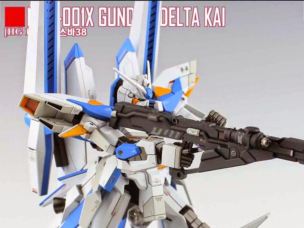 GUNDAM GUY: HG 1/144 Gundam Delta Kai