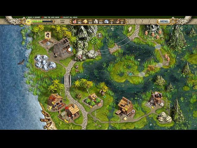 لعبة Adelantado 4 Aztec Skulls