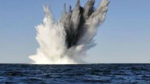 Εξουδετέρωση νάρκης στη θαλάσσια περιοχή Διρού Λακωνίας