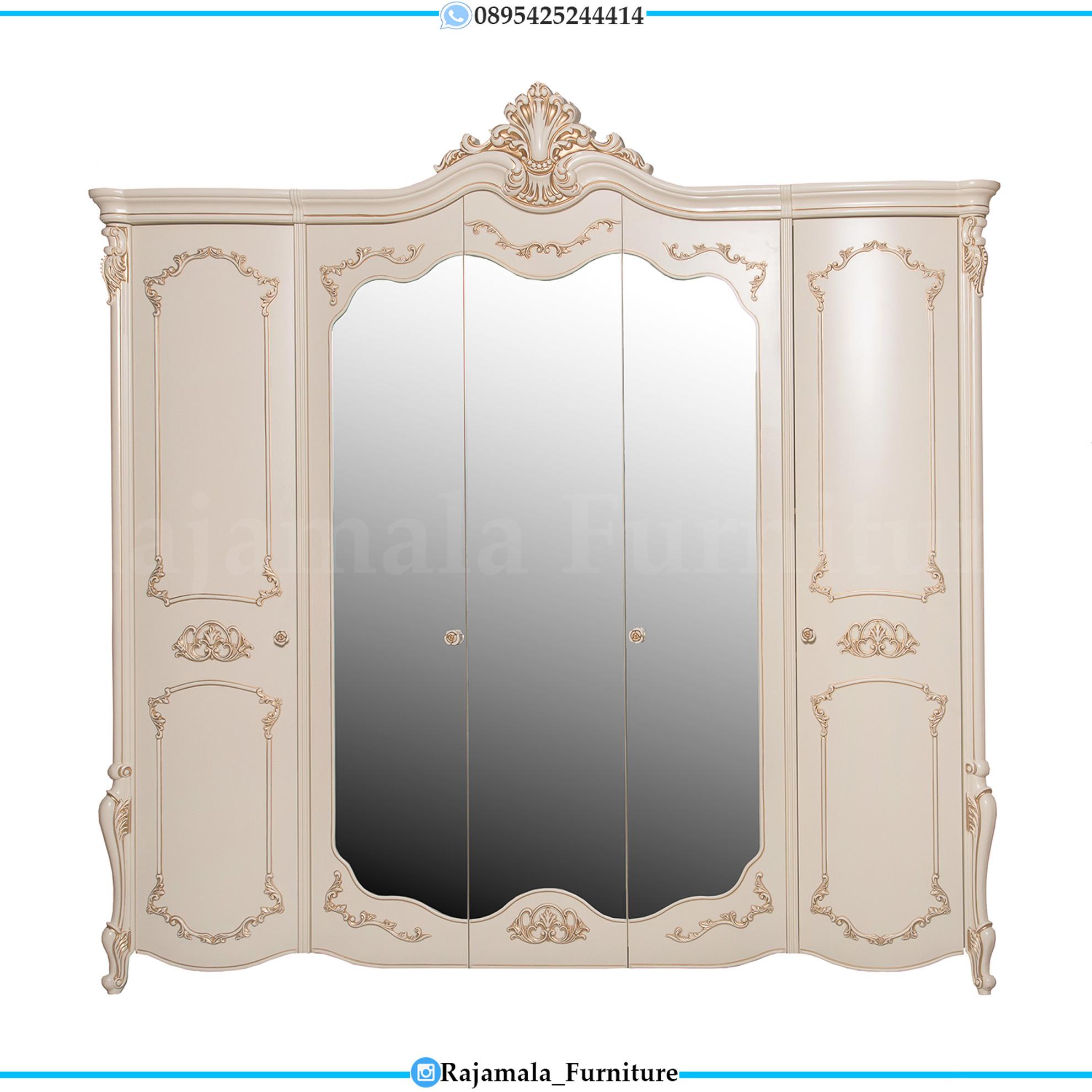 Lemari Baju Mewah Ukiran Classic Luxury Furniture Jepara RM-0172