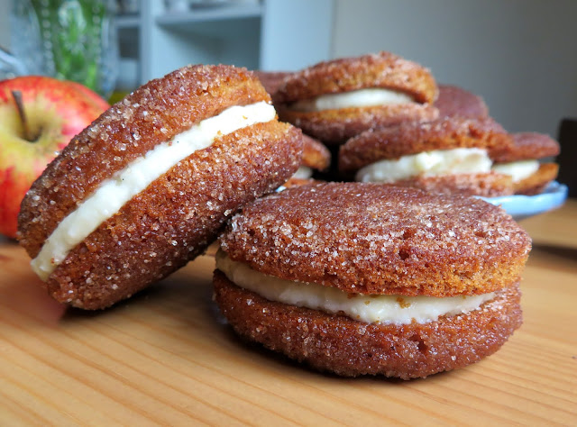 Apple Cider Donut Whoopie Pies