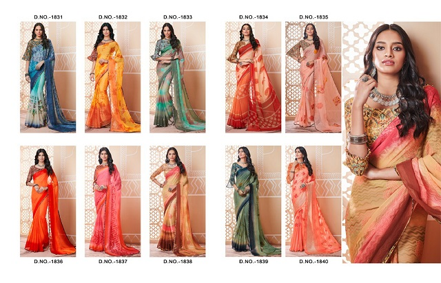 Monsoon Sarees Collection from Chinpack 2019