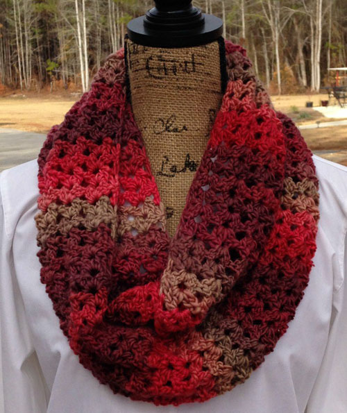 Sunset Scarf - Free Pattern