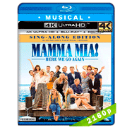Mamma Mía! Vamos otra vez (2018) 4K UHD Audio Dual Latino-Ingles
