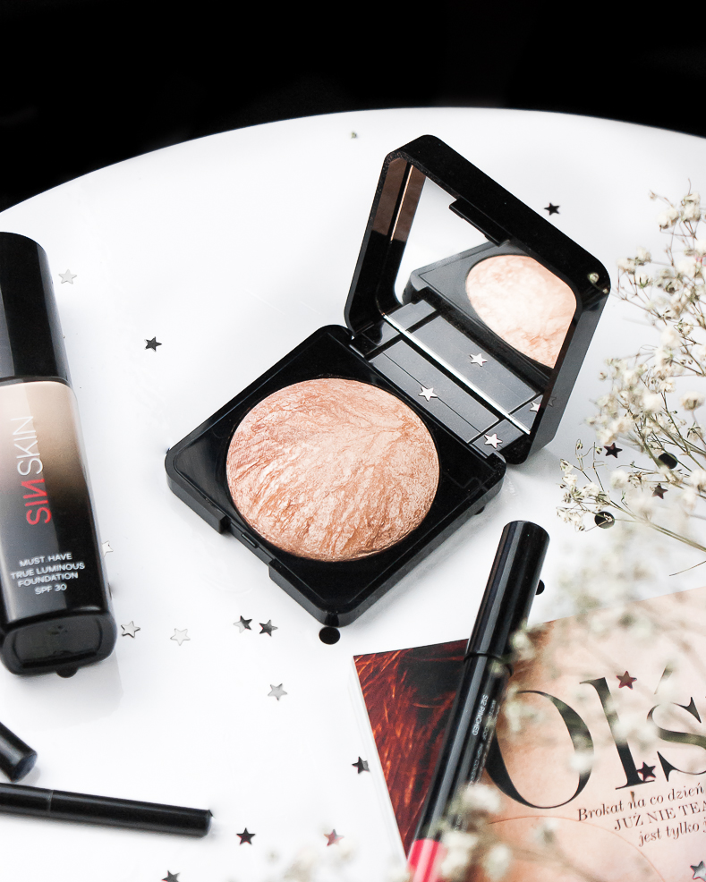 SIN SKIN - MUST HAVE MINERAL HIGHLIGHTER rozświetlacz mineralny blog opinie