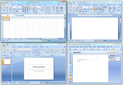 what is new in ms office 2007