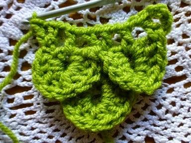 Lindevrouwsweb Krokodillen Steek Crocodile Stitch