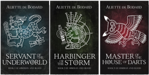 book covers for the three bookds