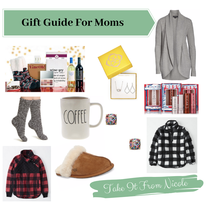 During the hustle and bustle of the holidays it's easy to overlook yourself. Or maybe you need ideas for your own mom or girlfriends. Whatever mom you happen to be shopping for a I have a list of chic and cozy picks that are sure to be a hit! I tried to include a variety of price points so there's something for every budget.