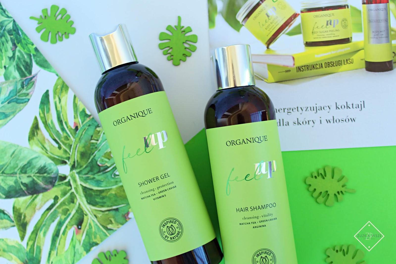 Oczyszczający szampon do włosów Organique Feel Up