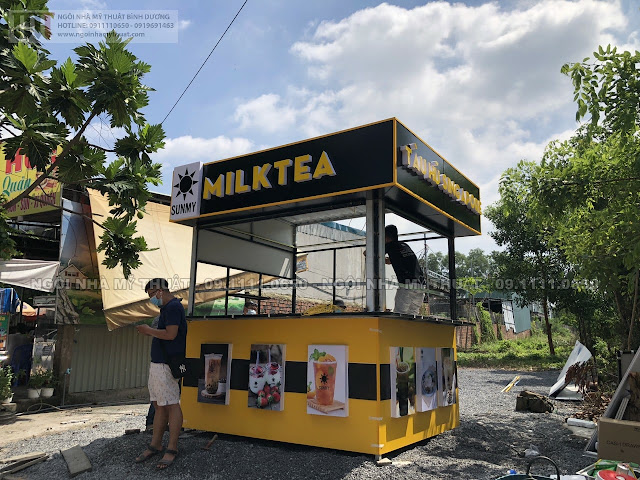 Kiot cafe, trà sữa đẹp nhất 2021