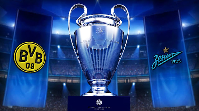 مباراة زينيت سانت بطرسبرغ وبوروسيا دورتموند دوري أبطال أوروبا بث مباشر