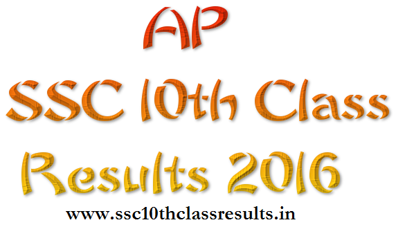 AP SSC 10th Class Results 2016