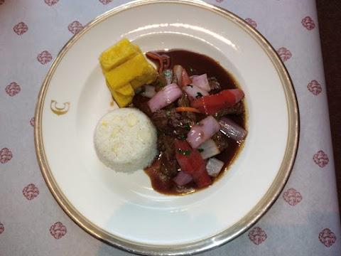 Lomo Saltado seguirá siendo el plato preferido en el Restaurante Perroquet del Country Club Lima Hotel