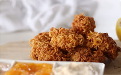 the best crispy noodle chicken nuggets recipe
