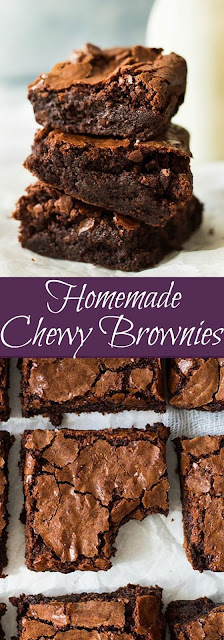 Homemade Chewy Browníes