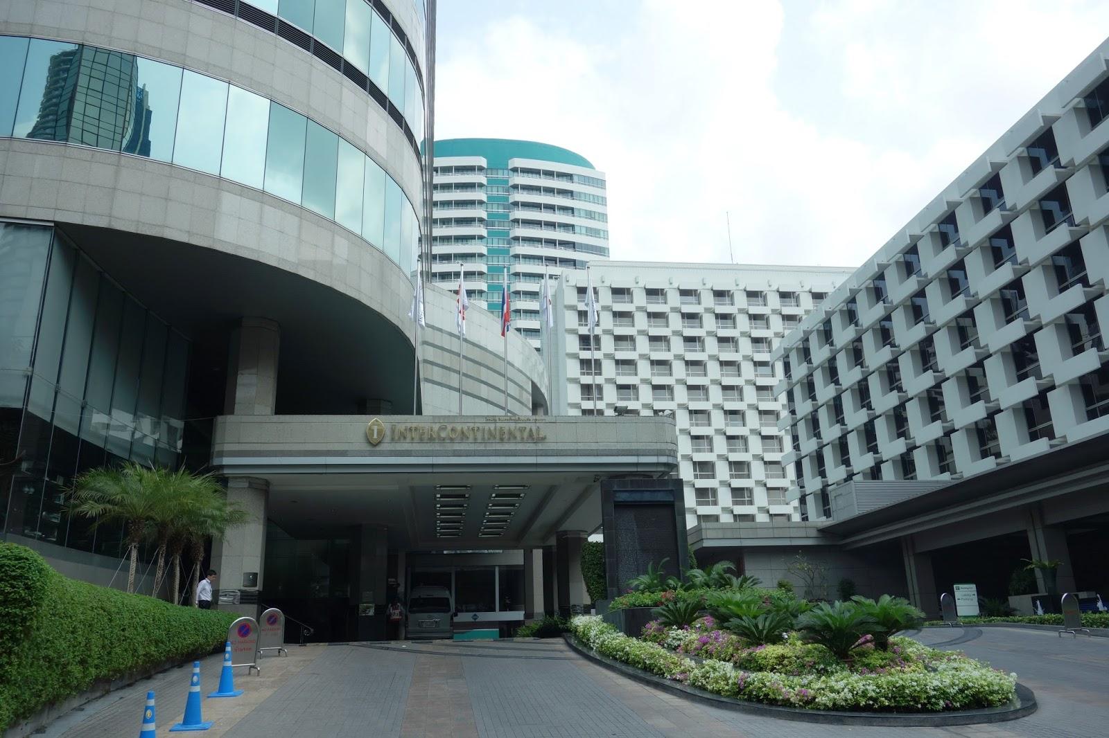 Where Is Fatboy Bangkok Intercontinental Hotel