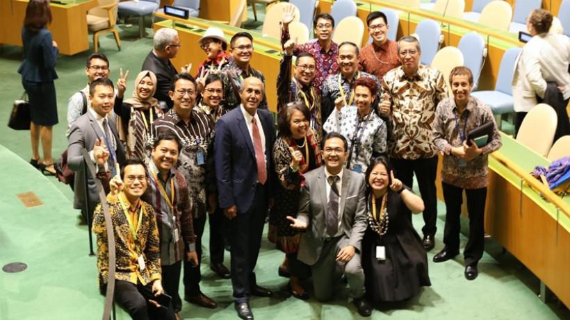 Indonesia Berhasil Terpilih Kembali Jadi Anggota HAM PBB