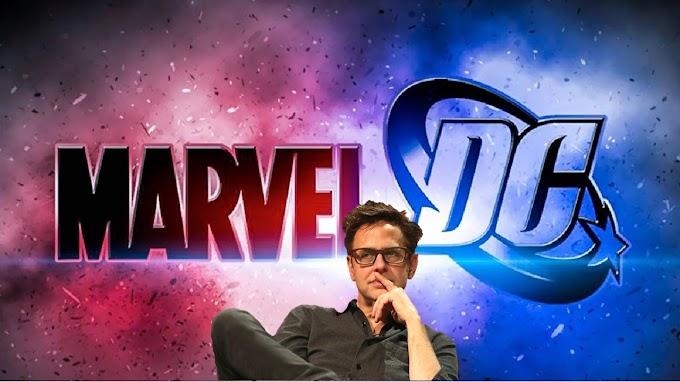 James Gunn fala sobre a relação da Marvel e DC por trás das câmeras