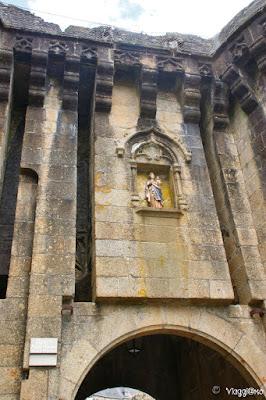 Porta di accesso alle fortificazioni di Fougeres