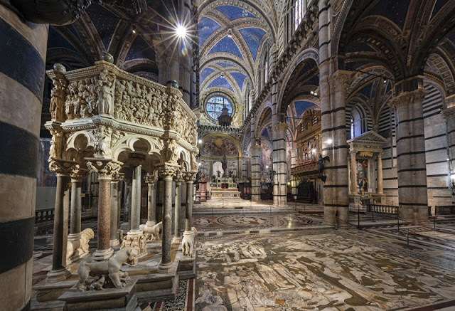Come in Cielo così in terra. Scopertura straordinaria del Pavimento del Duomo di Siena. Il programma per il triennio 2020/2022