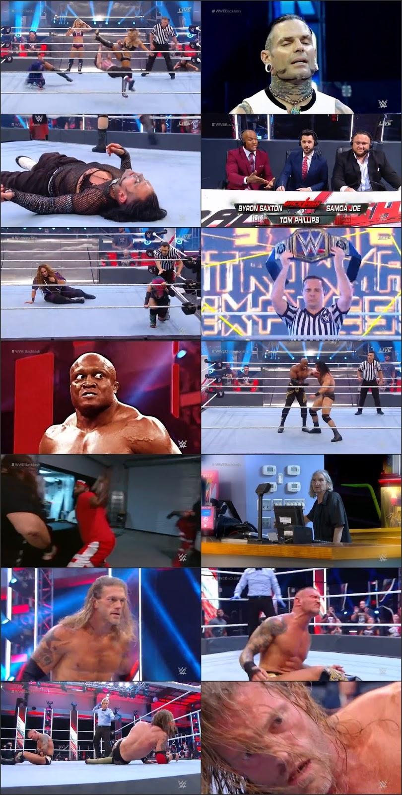 WWE Backlash 2020 PPV 700MB 480p WEBRip Download