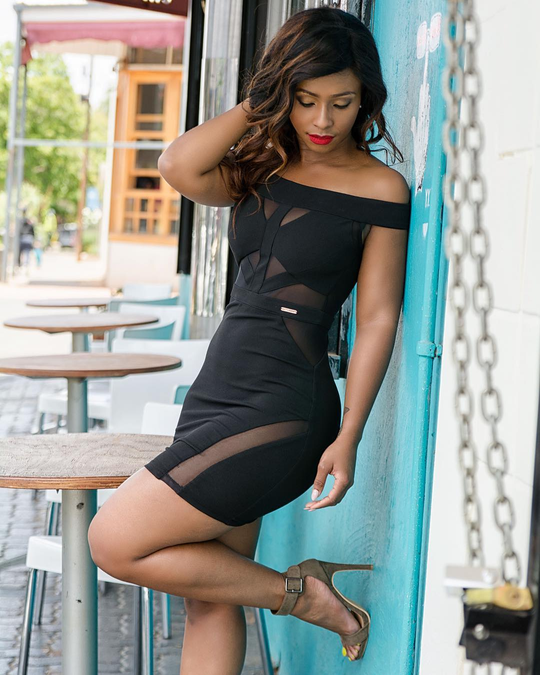 3 picture of the day: boity thulo rock sissy boy black dress