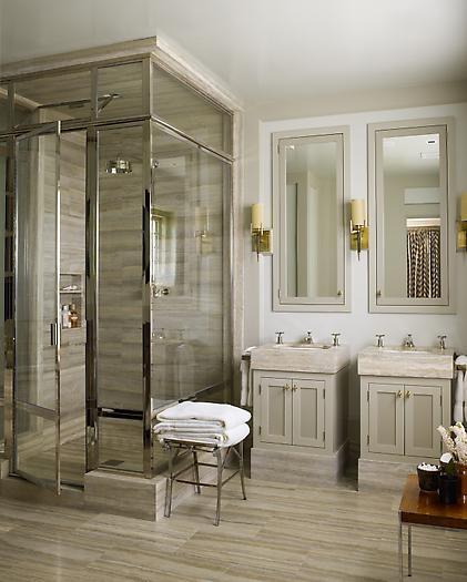 ванная комната для двоих с душем