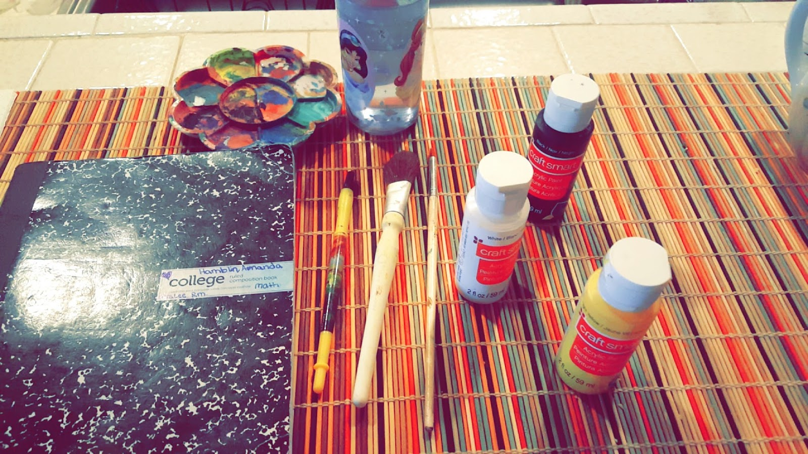 Paint The Notebook Black Then Let It Dry And Coat With Again Keep Do Ing That Until Its Very 2 Put Yellow Dots Everywhere