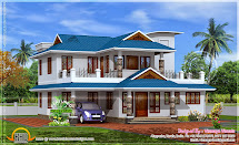 2350 Sq. Feet Home Model In Kerala - Design