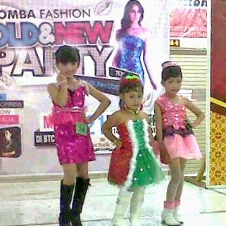 Fashion Show Baju Pesta Glamour Anak