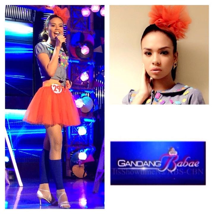 Chatterlie Mae Alcantara Umalos is Gandang Babae 2014 Grand Winner