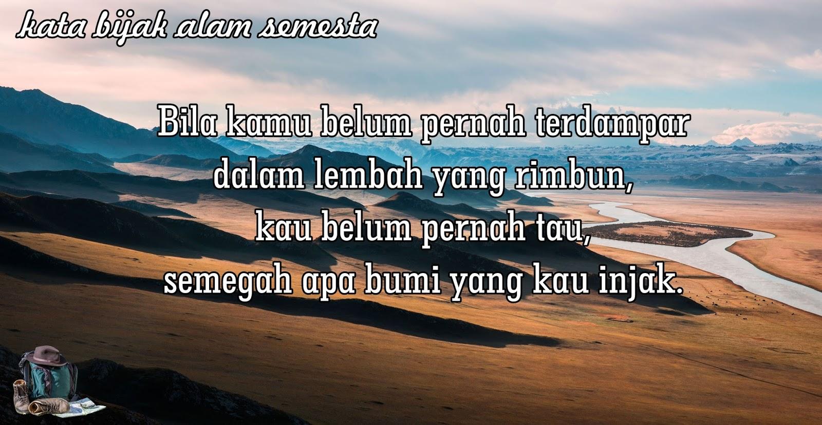 Caption Alam Singkat 3