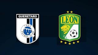 Queretaro vs Leon Jornada 10 Torneo Apertura 2020