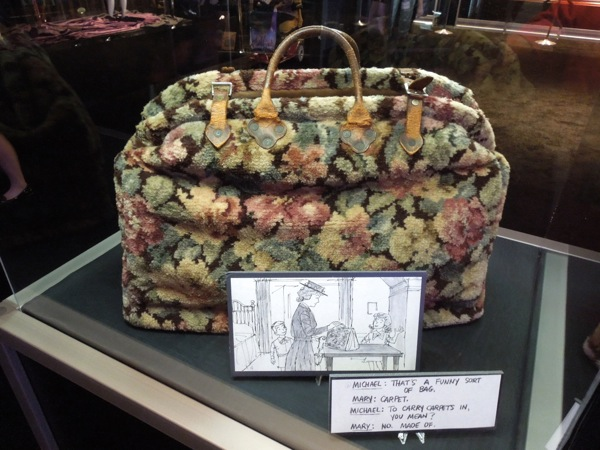 Mary Poppins carpet bag prop