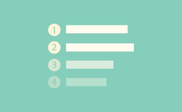 Membuat Nombor Dengan CSS (Style Bulat)