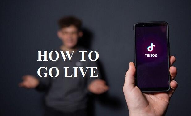go live on Tik Tok