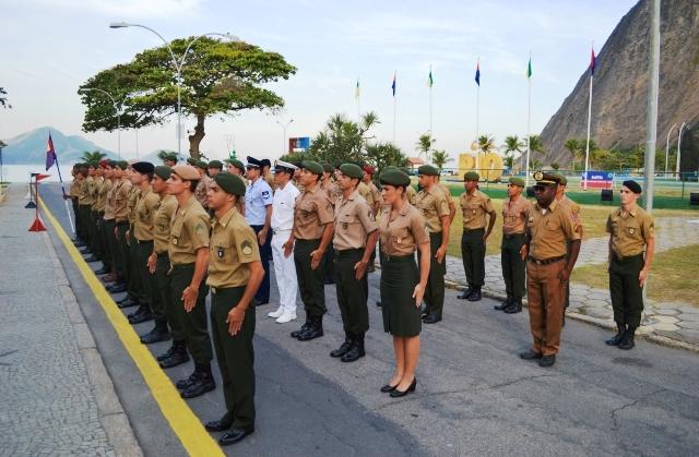 """1845ad06b3 Escola de Educação Física do Exército forma a primeira """"Calção Preto"""" do  Exército"""