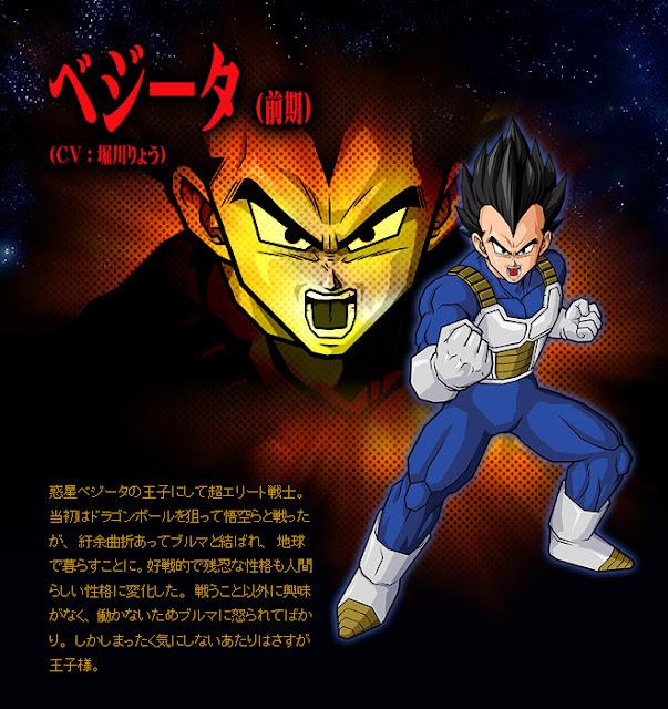 Dragon Ball Enciclopédia Vegeta