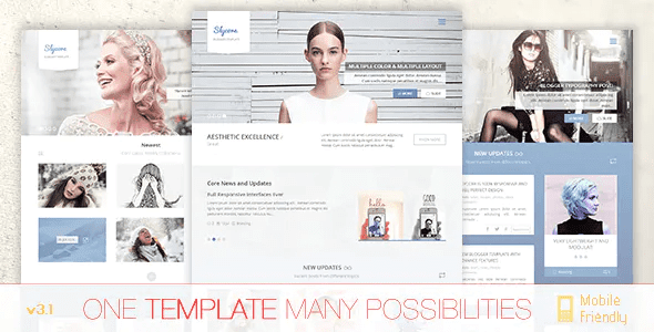 Professional Responsive Blogger Templates