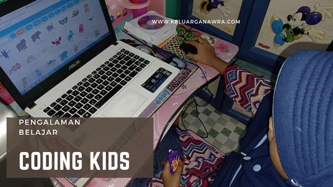 Pengalaman  Anak Belajar Coding