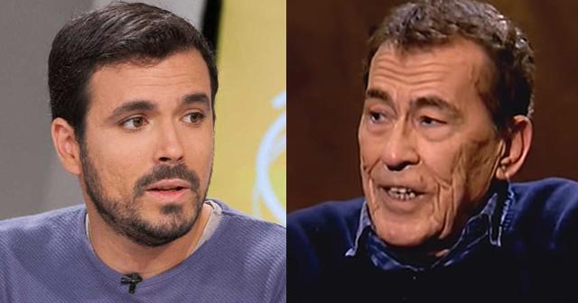 Sánchez Dragó recuerda que las derechas salieron a la calle en el 36 y es respondido por Alberto Garzón