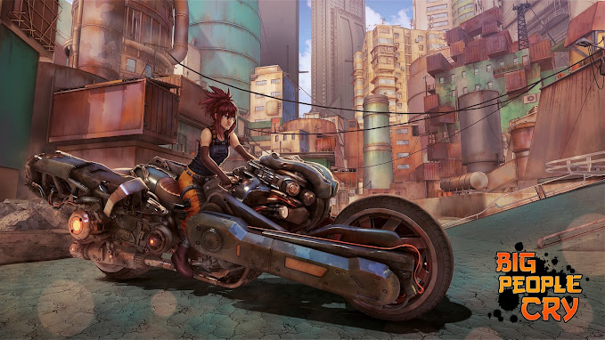 Rouge's Moto by Nicolas Bienfait-Cassaro