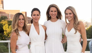 Jessica Mulroney and sisters - The Shoebox Project - RW&CO project